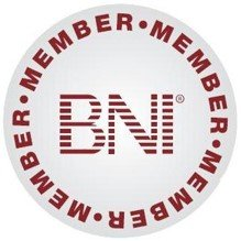 BNI Logo showing our support