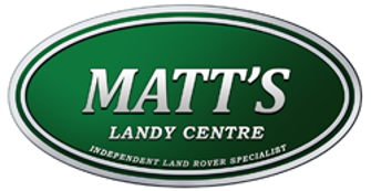 Logo showing our strengths as landrover specialist